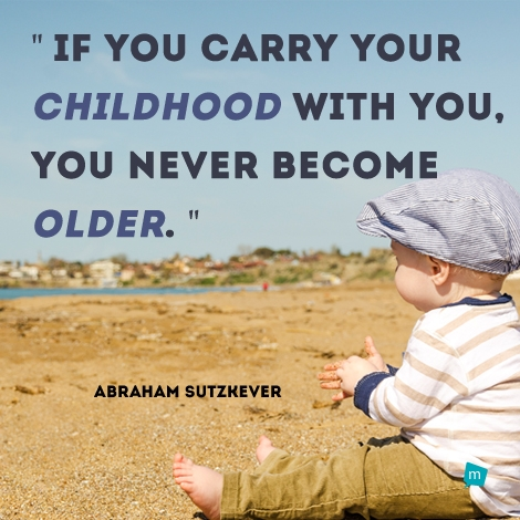 abraham sutzkever quote age quote childhood quote inspirational