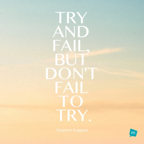 Stephen Kaggwa Quote, Failure Quote,Inspiration Quote ...